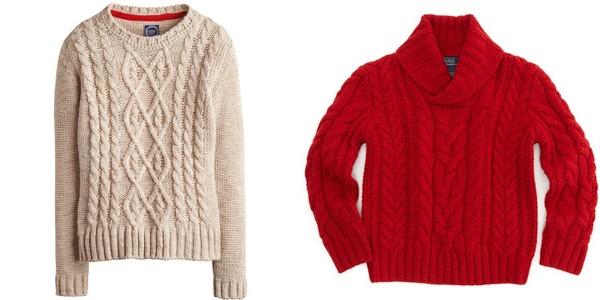 свитера с косичками joules и ralph lauren