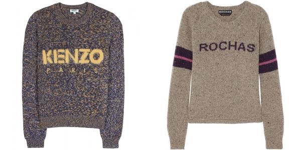 свитера kenzo и rochas 2013-2014