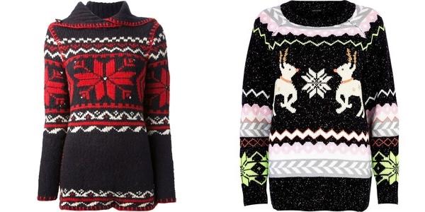 свитер со скандинавским орнаментом ralph lauren и river island