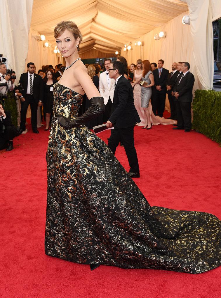 Карли Клосс на Met Gala 2014