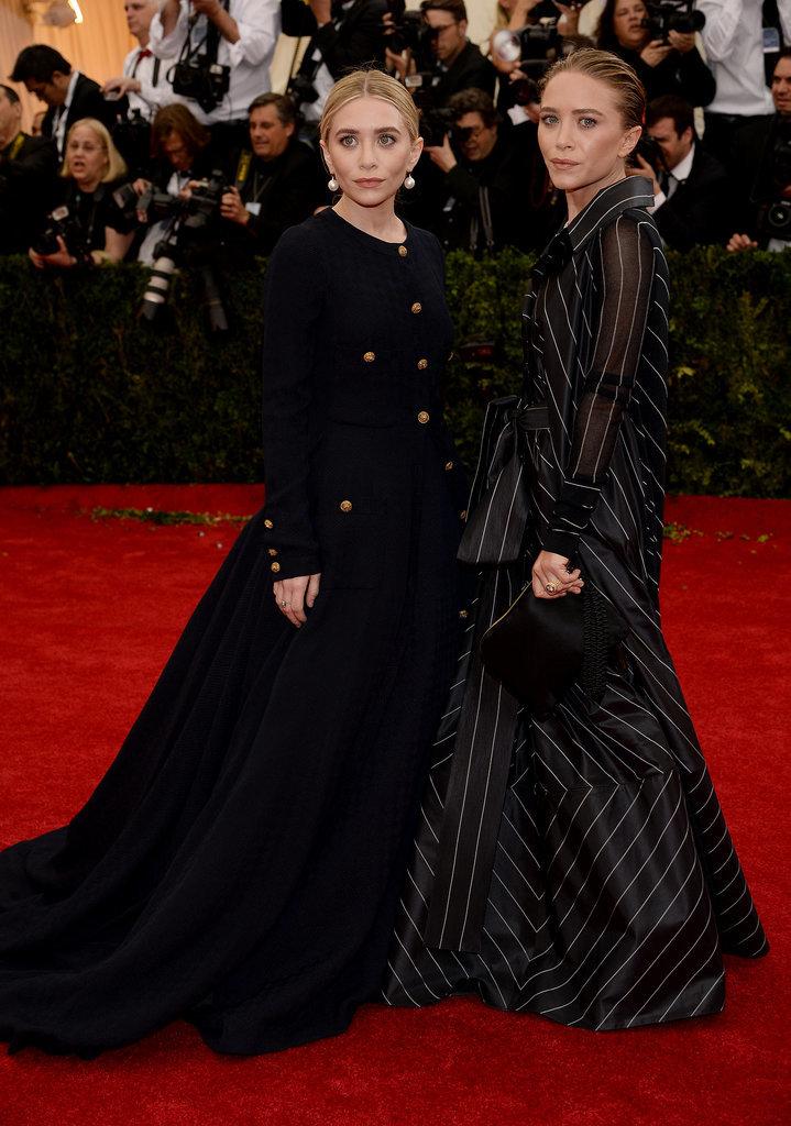 Мэри-Кейт и Эшли Олсен на Met Gala 2014