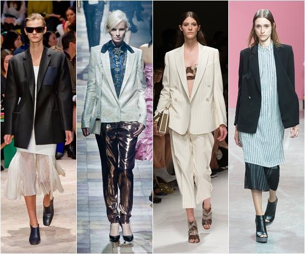 длинные пиджаки и блейзеры в мужском стиле весна лето 2014
