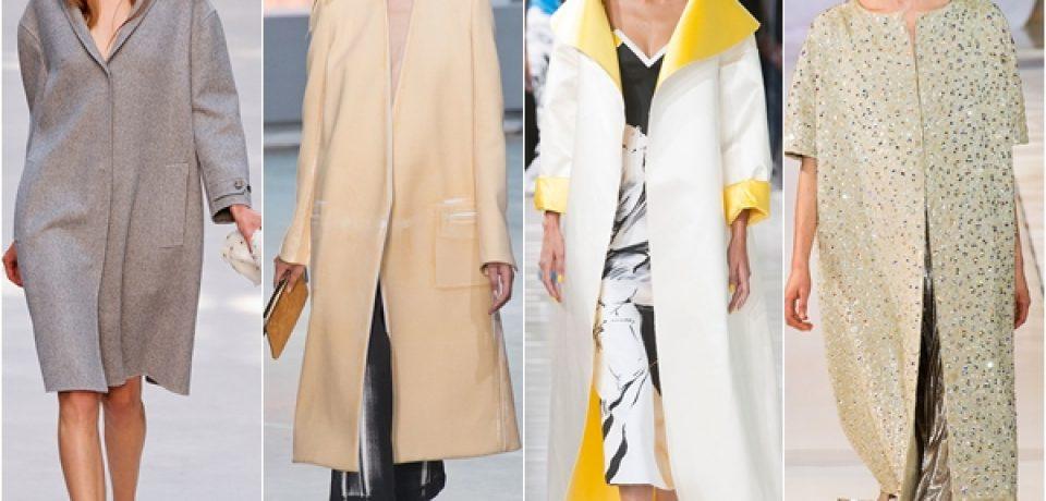 Модные женские пальто и плащи весна-лето 2014