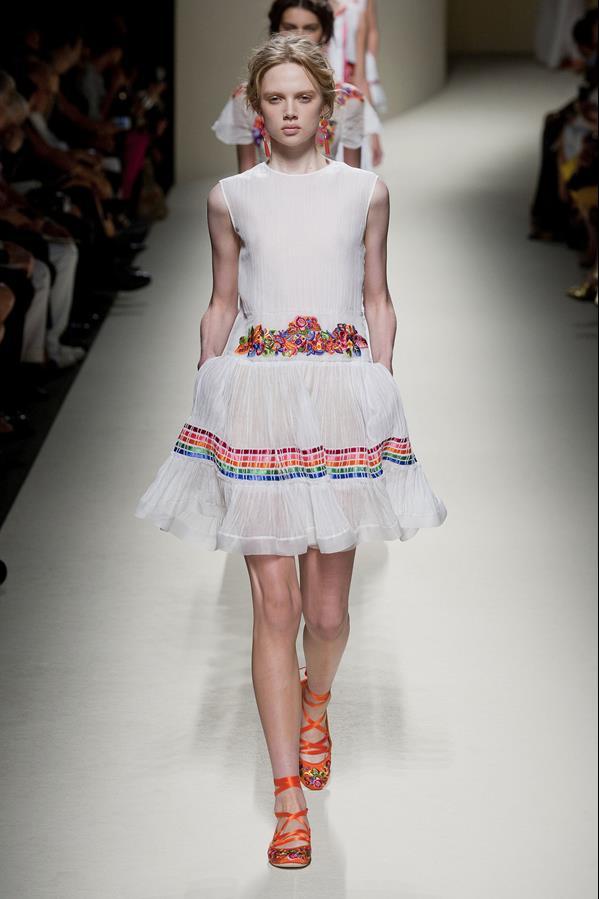 коллекция alberta ferretti весна-лето 2014 платья48