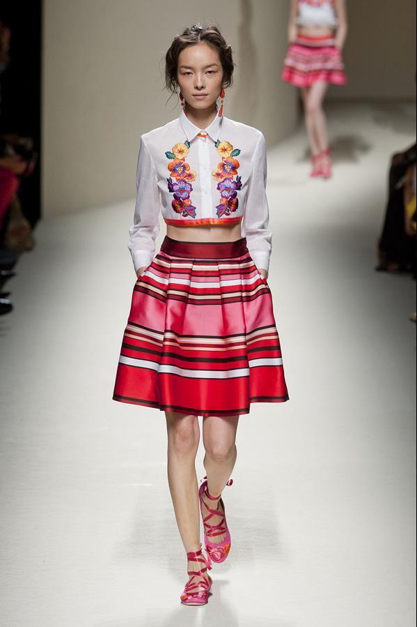 коллекция alberta ferretti весна-лето 2014 платья35