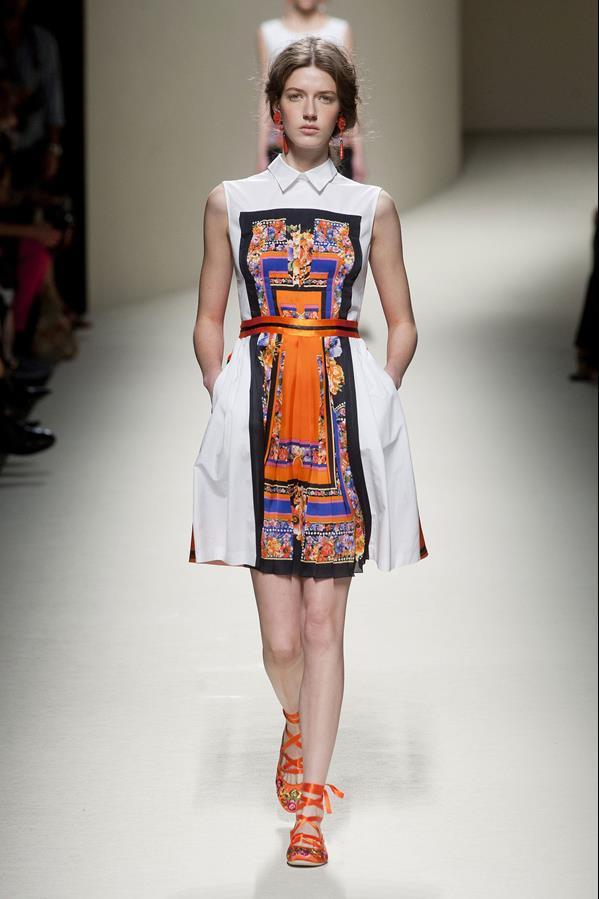 коллекция alberta ferretti весна-лето 2014 платья34