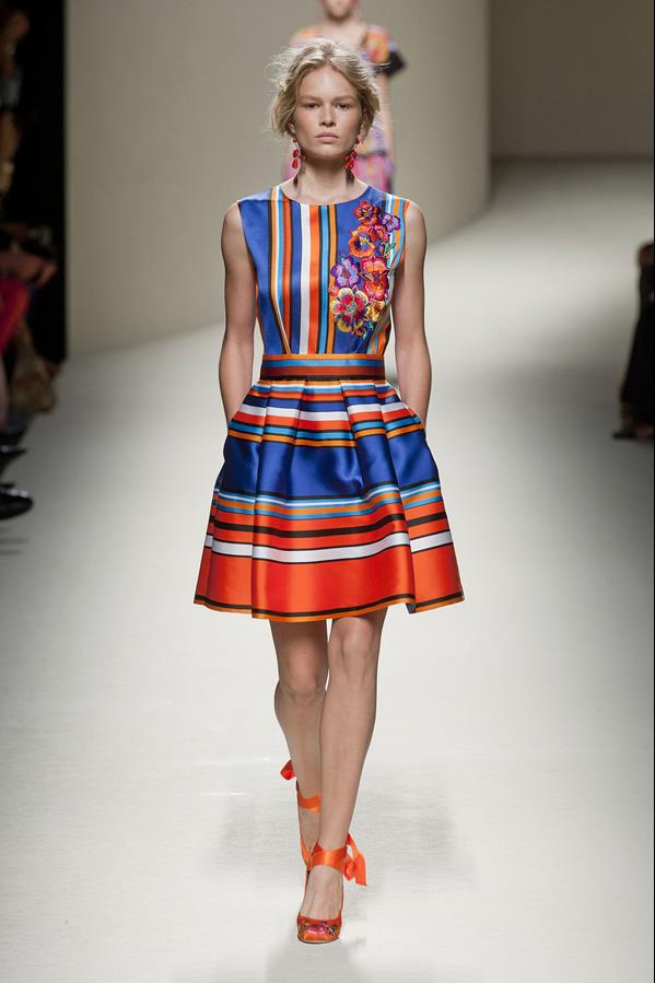 коллекция alberta ferretti весна-лето 2014 платья32