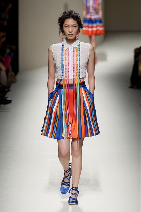 коллекция alberta ferretti весна-лето 2014 платья31