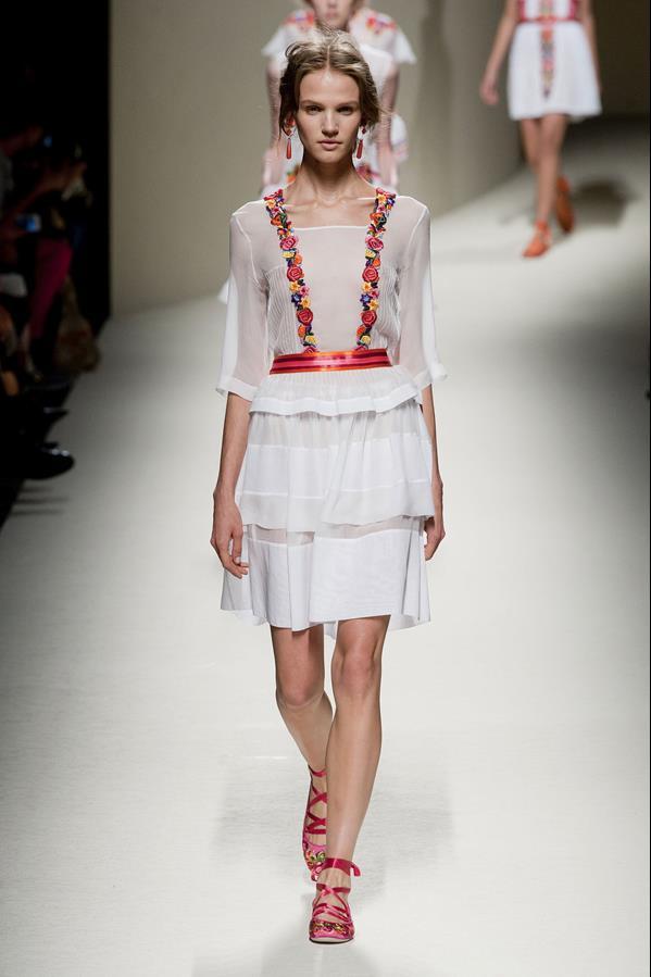 коллекция alberta ferretti весна-лето 2014 платья47
