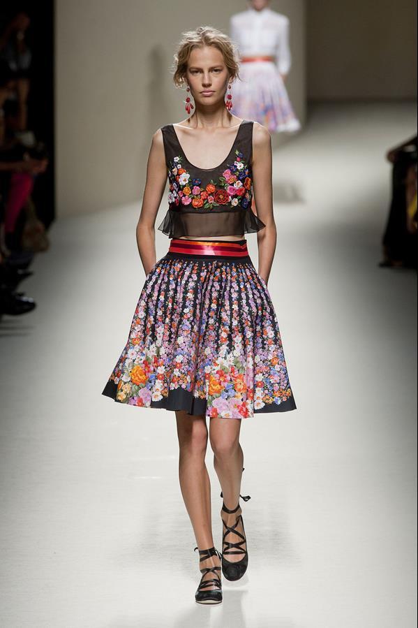коллекция alberta ferretti весна-лето 2014 платья28
