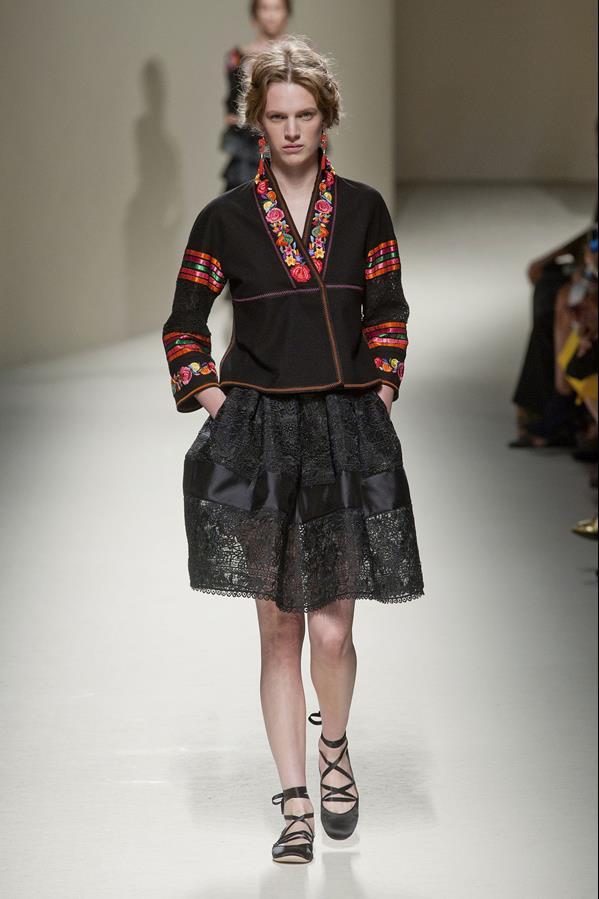 коллекция alberta ferretti весна-лето 2014 платья