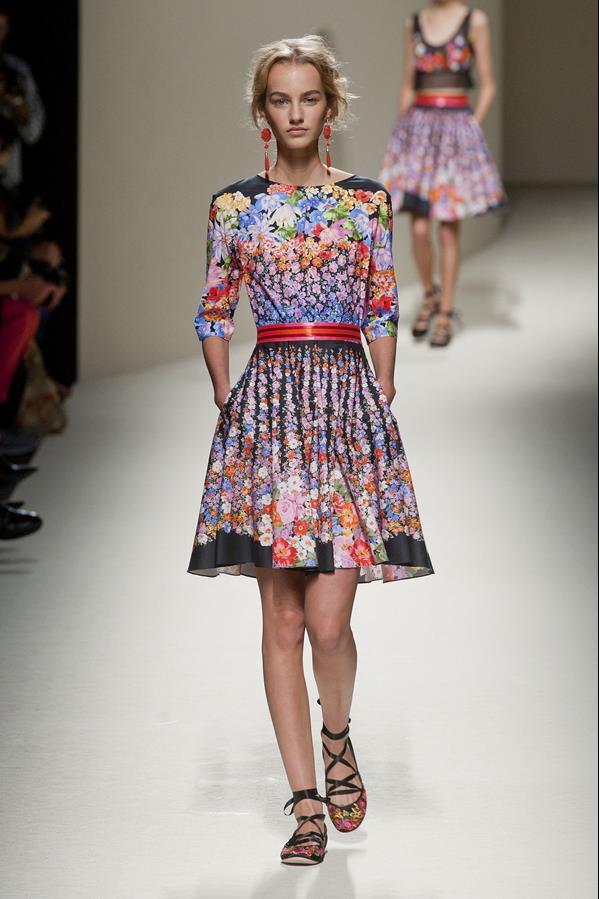 коллекция alberta ferretti весна-лето 2014 платья27