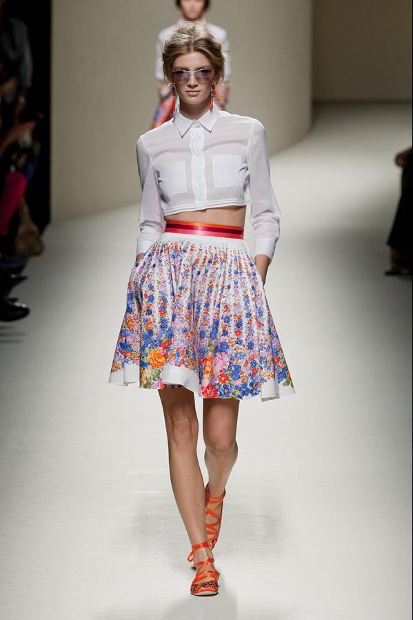 коллекция alberta ferretti весна-лето 2014 платья25