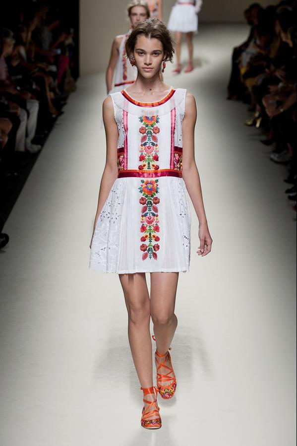 коллекция alberta ferretti весна-лето 2014 платья46
