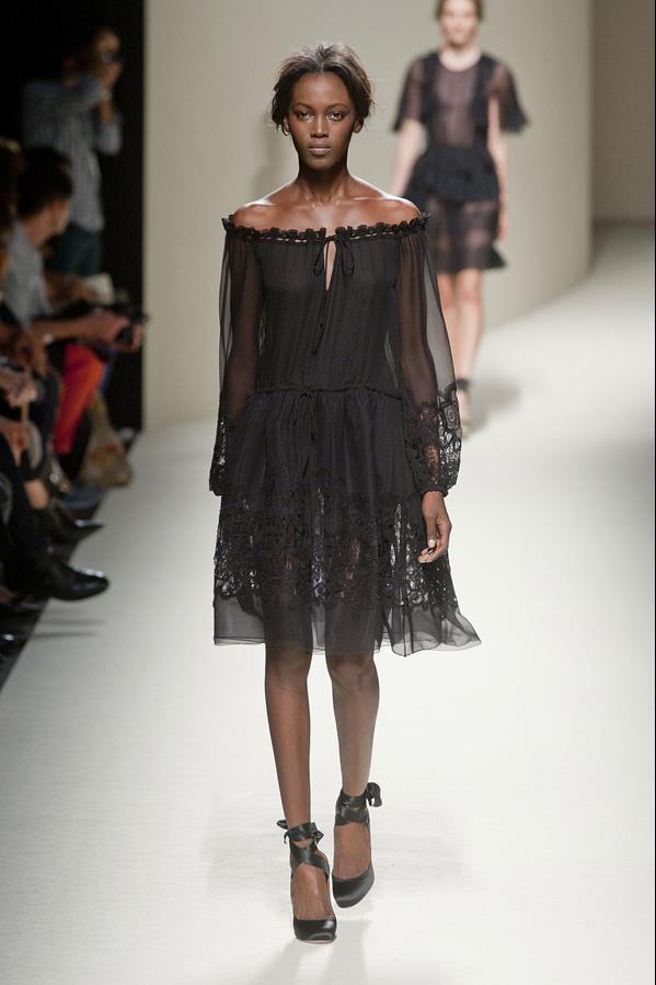коллекция alberta ferretti весна-лето 2014 платья21