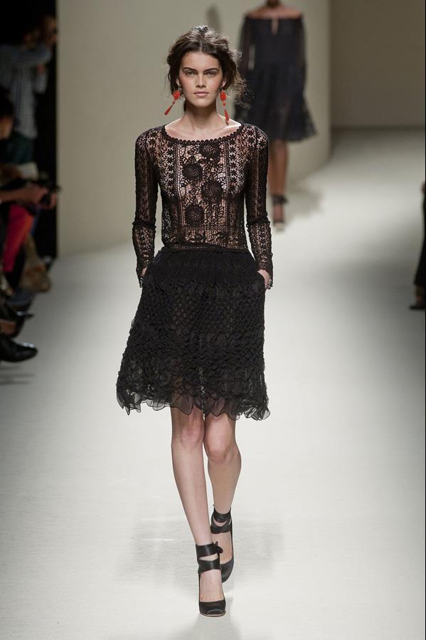 коллекция alberta ferretti весна-лето 2014 платья19