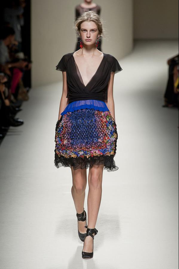 коллекция alberta ferretti весна-лето 2014 платья18
