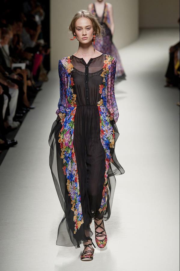 коллекция alberta ferretti весна-лето 2014 платья17
