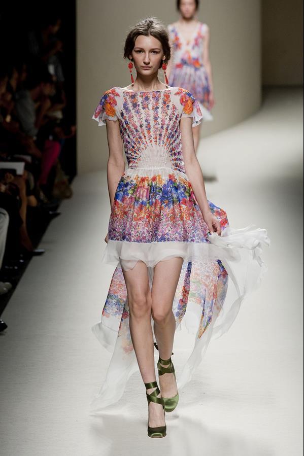 коллекция alberta ferretti весна-лето 2014 платья16