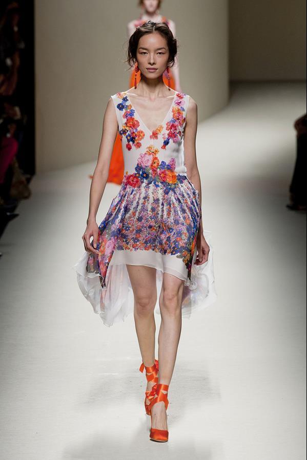 коллекция alberta ferretti весна-лето 2014 платья15