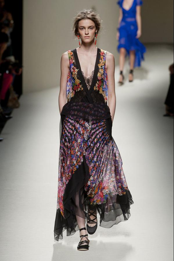 коллекция alberta ferretti весна-лето 2014 платья14