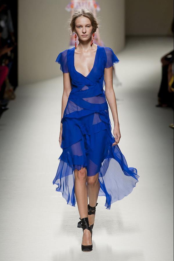 коллекция alberta ferretti весна-лето 2014 платья13