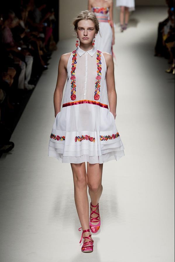 коллекция alberta ferretti весна-лето 2014 платья45