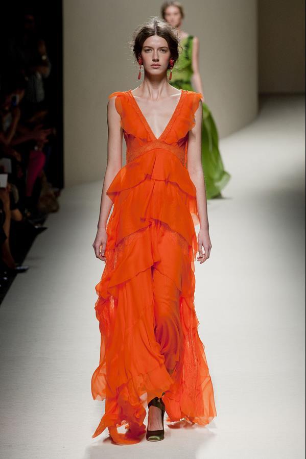 коллекция alberta ferretti весна-лето 2014 платья12