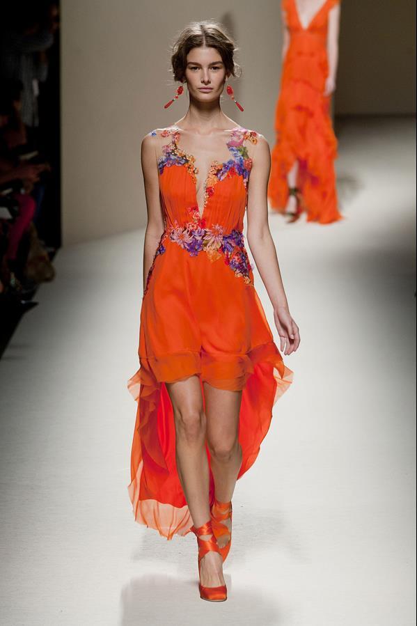 коллекция alberta ferretti весна-лето 2014 платья11
