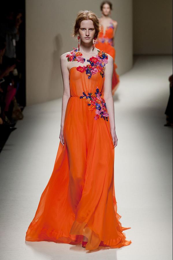 коллекция alberta ferretti весна-лето 2014 платья10