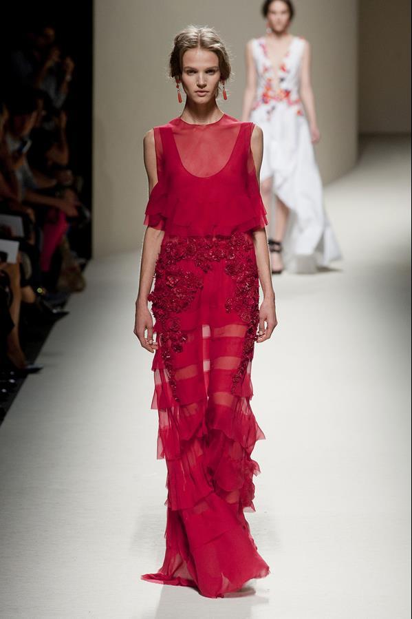 коллекция alberta ferretti весна-лето 2014 платья8