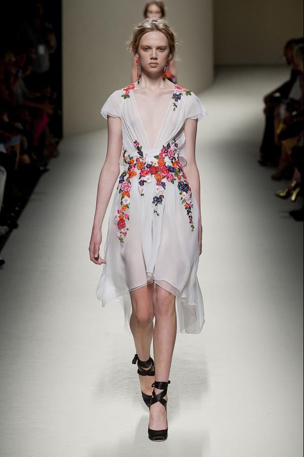 коллекция alberta ferretti весна-лето 2014 платья7