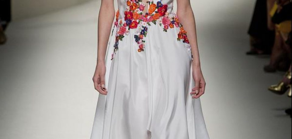Коллекции весна-лето 2014: Alberta Ferretti