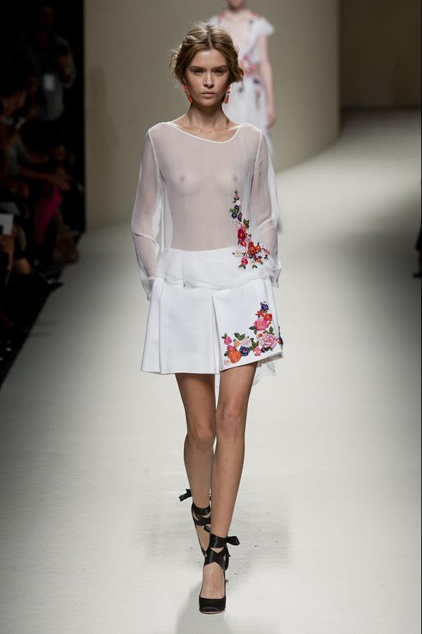 коллекция alberta ferretti весна-лето 2014 платья6
