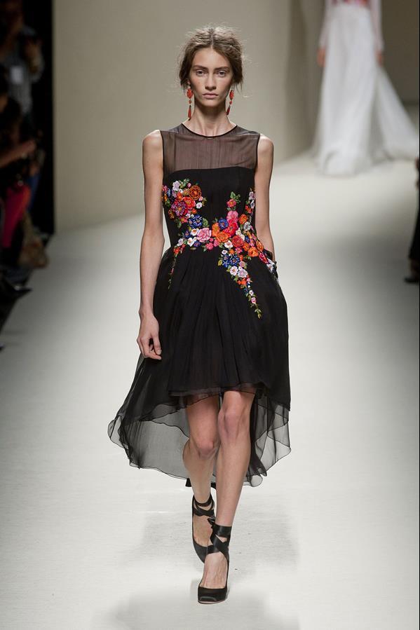 коллекция alberta ferretti весна-лето 2014 платья5