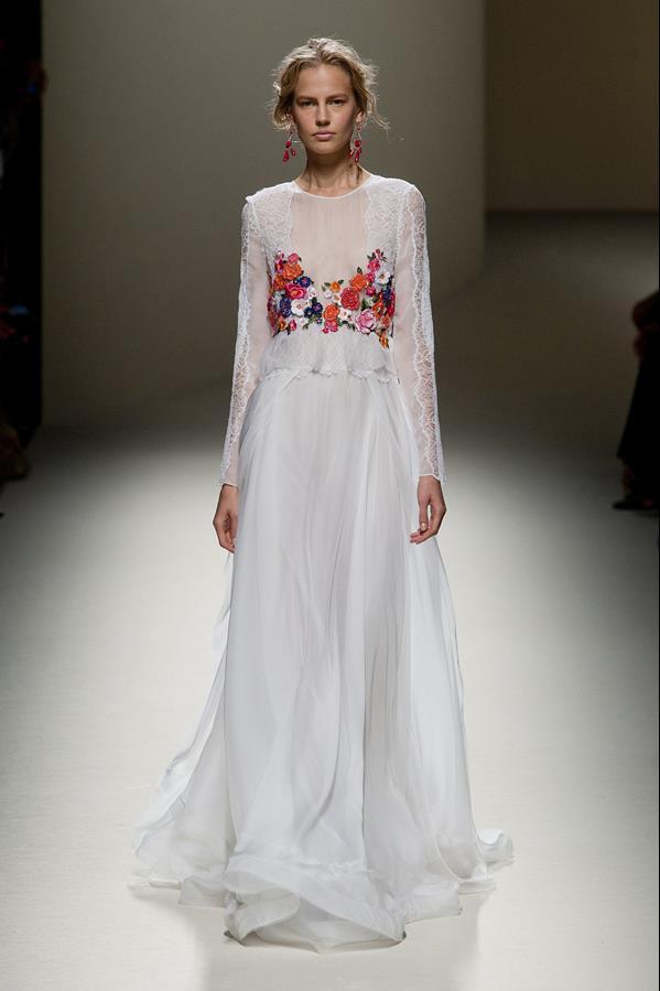 коллекция alberta ferretti весна-лето 2014 платья4