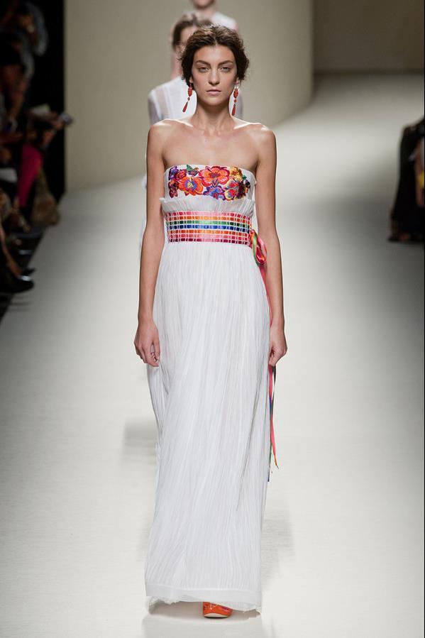 коллекция alberta ferretti весна-лето 2014 платья44