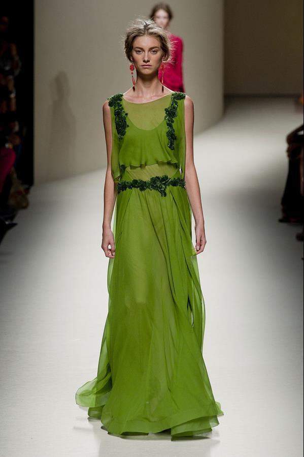 коллекция alberta ferretti весна-лето 2014 платья2