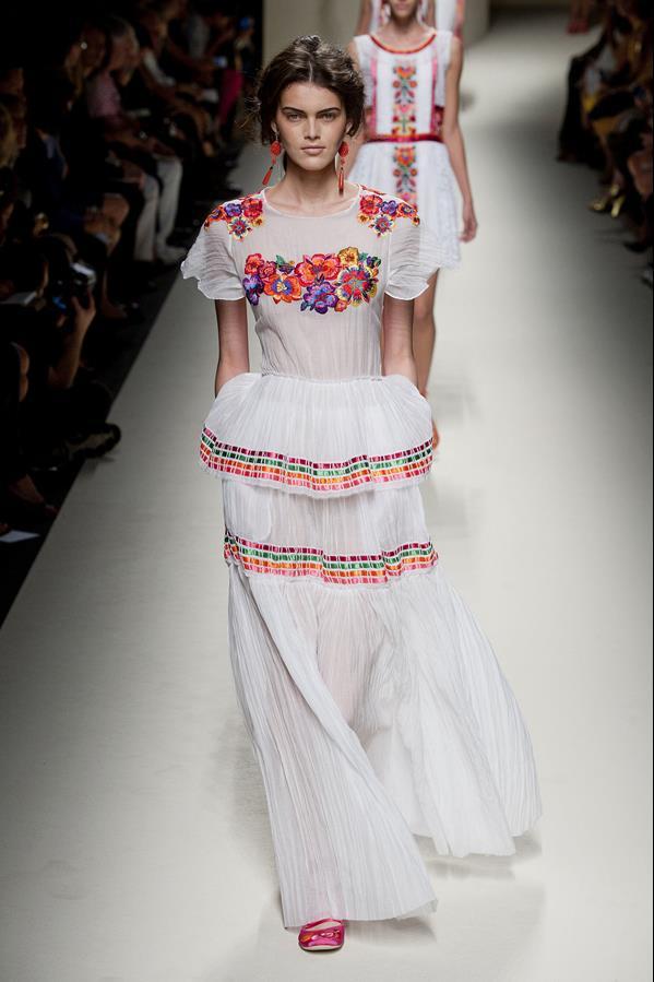 коллекция alberta ferretti весна-лето 2014 платья43