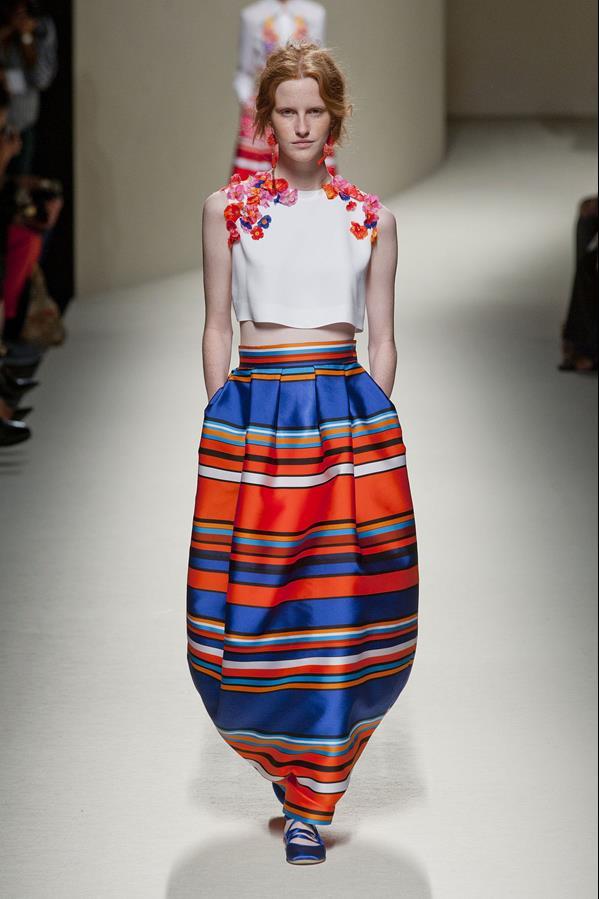 коллекция alberta ferretti весна-лето 2014 платья40