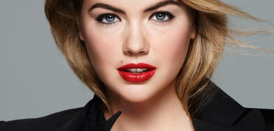 Кейт Аптон в рекламной кампании косметической линии Bobbi Brown