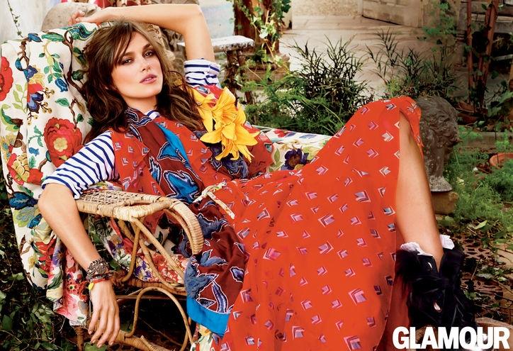 Фотосессия Киры Найти для Glamour US July 2014