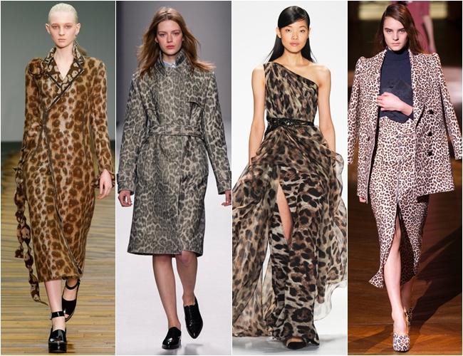 леопард осень-зима 2014-2015