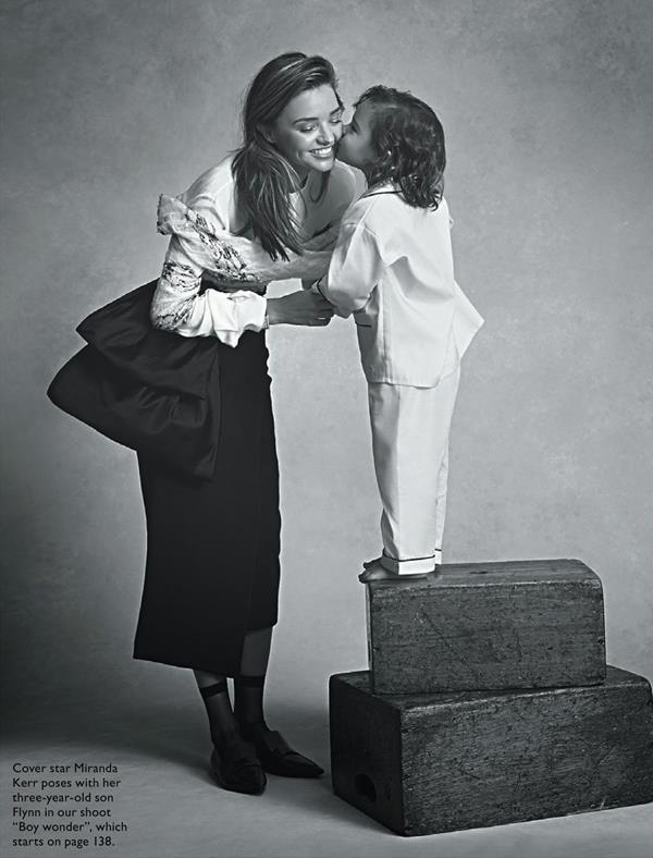 фотосессия Миранды Кетт Vogue Australia July 2014