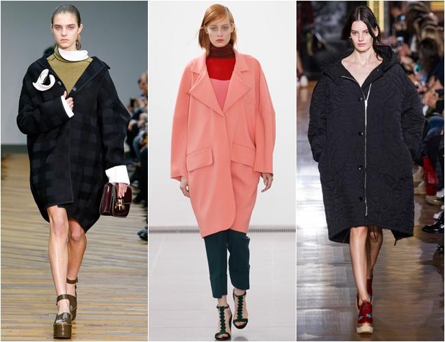 пальто большого размера осень-зима 2014-2015