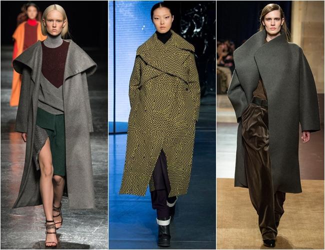 объемное пальто осень-зима 2014-2015