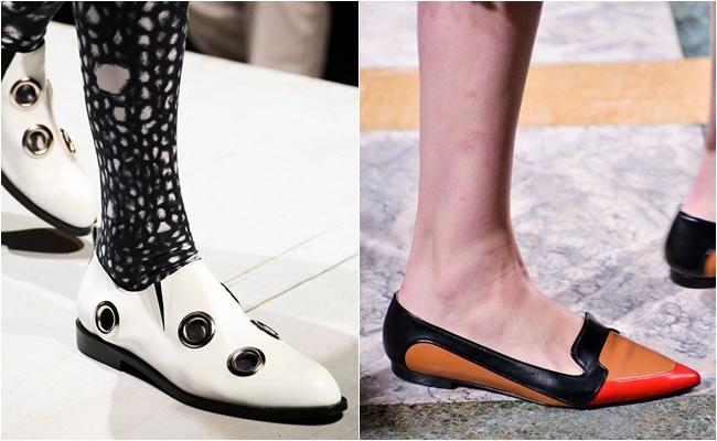 плоская подошва обуви 2015
