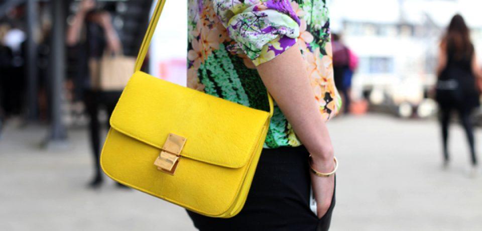 Желтая сумка: от лимона до неона