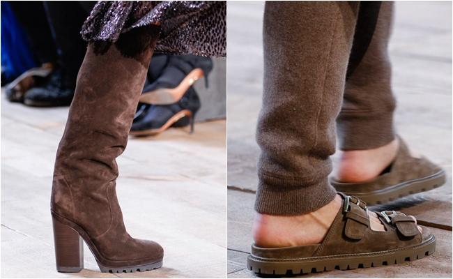Замшевая обувь осень-зима 2014-2015