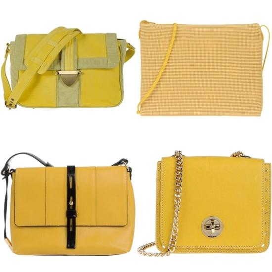 сумка планшет желтая фото